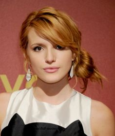 Bella Thorne at QVC Red Carpet Event February 28,2014