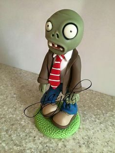 Plants Vs Zombies, Zombies Vs, Zombie Birthday, Zombie Party, Bolo Halloween, Halloween Party, Laser Tag Birthday, Halloween Projects, Party