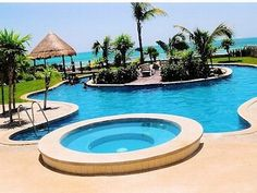 Hmm this is a good one too! Cancun Estate Rental: Beachfront Estate With Private Pool 15 To 20 Minutes From Cancun Hotel District | HomeAway