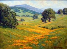 Foothills Spring by Michael Severin Oil
