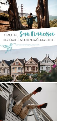 2 Tage in San Francisco – Sehenswürdigkeiten & Highlights Here are some tips on how to spend a weekend in San Francisco! All highlights and attractions for two days in San Francisco, u. there are the Painted Ladies, Alcatraz and… Continue Reading → San Francisco Sights, Weekend In San Francisco, Vacation Ideas, Beste Reisezeit Thailand, Cool Places To Visit, Places To Travel, Amazing Destinations, Travel Destinations, Visit Usa