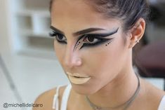 Michelli Make Up: Artistic Makeup - Black Swan Inspiration M . - Michelli Make Up: Artistic Makeup – Black Swan Inspiration Michelli Make Up: Artisti - Ballet Makeup, Dance Makeup, Bird Makeup, Makeup Art, Maquillage Halloween, Halloween Makeup, Makeup Inspo, Makeup Inspiration, Makeup Geek