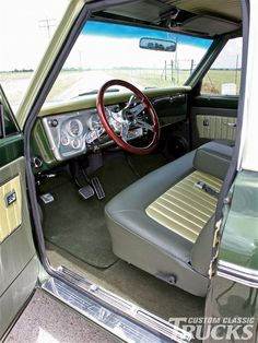chevy truck interior