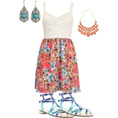 """""""Summer!"""" by nutmeg-326 on Polyvore"""