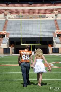 UT Football Engagement....just have to change the school!