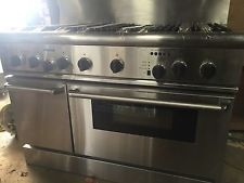 "Thermador Professional 48"" Duel Fuel 6 Burner Double Range W/Lava Rock Grill"