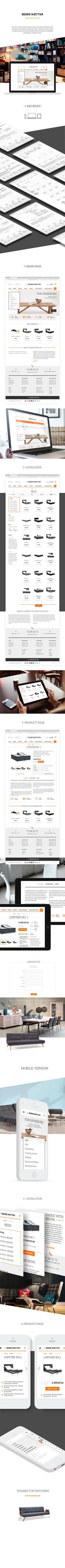 Bedrenaetter.dk, Site © BASOV DESIGN