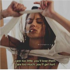 Shared by HER ◇. Find images and videos on We Heart It - the app to get lost in what you love. Xxxtentacion Quotes, Grunge Quotes, Bitch Quotes, Sassy Quotes, Mood Quotes, Sad Movie Quotes, Qoutes, Bad Girl Quotes, Aesthetic Words