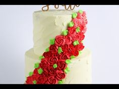 Easiest Ever Floral Spray Cake Tutorial! - Final Cut Cakes