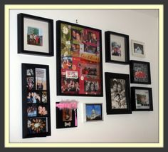picture gallery wall #gallery