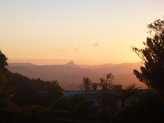 Lamington Sunset # O'Reilley's Guesthouse #Rainforest walks