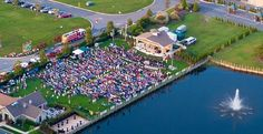 The Freeman Stage, Selbyville, Delaware, August, Fenwick Island, Outdoor Stage, Aerial View, Golf Courses, Tours, Mansions, House Styles, Delaware, Schedule