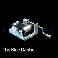 Hand Crank Musical Box/Music Box Movement Melody The Blue Danube Toy Making Supplies