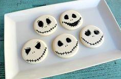 Jack Skellington Cookies (The Nighmare Before Christmas)
