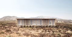 Josep Ferrando se suma al proyecto ochoquebradas con el diseño de una casa y hotel de madera