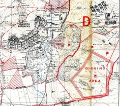 1:25,000 map dated 1931 Perham Down