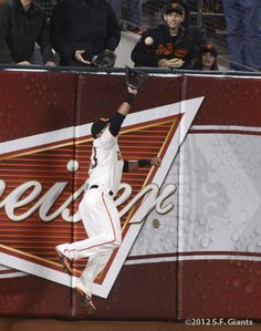Wow! Melky's Catch 6/13/12  SF Giants Photos