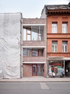 POOT ROEGIERS architecten nieuwbouw rijwoning / AG Vespa