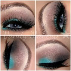 This little splash of turquoise is fabulous!