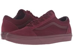 Vans Old Skool™ (Gum) Racing Red/Black - Zappos.com Free Shipping BOTH Ways
