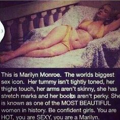 You are a Marilyn