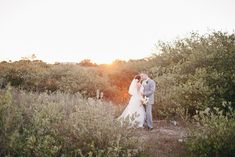 Romantic and scenic outdoor wedding in northern Florida   Photo by Brooke Images via Floridian Weddings