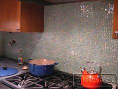 anima kitchen backsplash after glass mosaic tiles