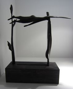 Melissa Young - The Grass is Always Greener - cast bronze, ed. of 15 Melissa Young, Desk Lamp, Table Lamp, Contemporary Art For Sale, Nz Art, Paintings For Sale, Grass, Bronze, Home Decor