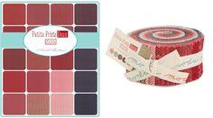 Moda Fabric Petite Prints Deux Jelly Roll