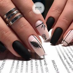 100 + The most amazing nail design - Page 76 of 103 - Nails - . - Edeline Ca. - 100 + The Most Amazing Nail Design – Page 76 of 103 – Nails – – - Stylish Nails, Trendy Nails, Cute Nails, My Nails, Best Acrylic Nails, Acrylic Nail Designs, Accent Nail Designs, Nagel Hacks, Nagellack Trends