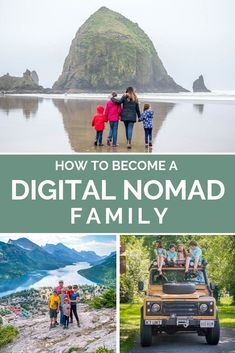 Have you ever dreamed of traveling full time with your family? Find out how to become a digital nomad family and how our family of 6 affords to travel the world. Use these 5 steps to full time travel to help you achieve a nomadic lifestyle you've always dreamed of. Whether it's road tripping the US living in a travel trailer full time,  flying around the world or worldschooling, these 5 simple steps will help you get there! #digital #digitalnomad #nomad #family #travel #worldschoo