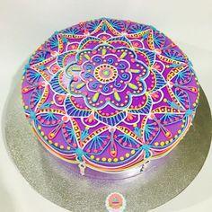 Resultado de imagen para tortas con mandalas
