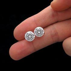 8a93939d3dd13 116 Best Earrings !!!! images in 2019 | Diamond Earrings, Diamond ...