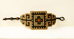 ALANGOO - Persian Rug Pattern Handmade Bracelet - Handcrafted Jewelry