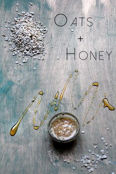 ∆∆∇∇ This mask is great for moisturizing dry skin and very convenient since honey and oats are quite common in the kitchen. The two ingredients are safe for all skin types, and the oats will act to soothe rough skin.