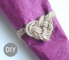 DIY Napkin Ring - Shhh, it's a secret!