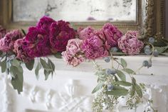 The secret to perfectly dried peonies -  I will admit that I have been known   to go a little crazy when peonies are in season.         But...