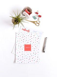 printable DIY project planner