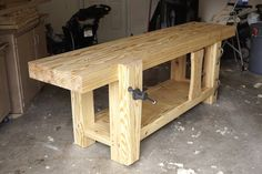 Roubo Workbench Build Complete