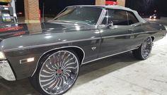 Chevrolet : Impala Convertible 1968 chevrolet impala convertible brand new 496 stroker big block motor 1968 Chevy Impala, Chevrolet Impala, Impala For Sale, Donk Cars, Wheels For Sale, Old School Cars, Best Luxury Cars, Convertible, Custom Cars