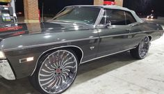 1968 Chevy Impala Convertible on 26-Inch Forgiato Wheels | For Sale Friday - Rides Magazine