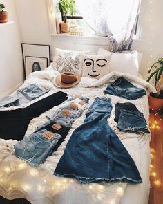 "4,267 Likes, 26 Comments - Viktoria Dahlberg (@viktoria.dahlberg) on Instagram: ""Don't know what to wear? Denim is always a good idea  #love #denim #uoonyou #uohome #interior #nyc"""