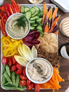 White Bean Dip with Winter Crudité for Thanksgiving is part of Winter appetizers Dips - A simple, healthy appetizer to contribute to your Thanksgiving dinner Appetizer Dips, Healthy Appetizers, Appetizers For Party, Appetizer Recipes, Healthy Recipes, Dinner Parties, Healthy Meals, Veggie Platters, Veggie Tray