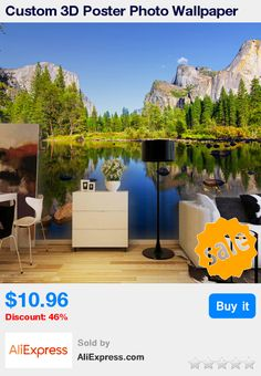 Custom 3D Poster Photo Wallpaper Blue Sky Scenic Landscape Inverted Image Living Room Background Photography Wall Mural Painting * Pub Date: 16:27 Jun 17 2017