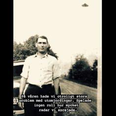 #utomjordning #radar #problem #vår #villfarelser #humor #ironi #text #foto