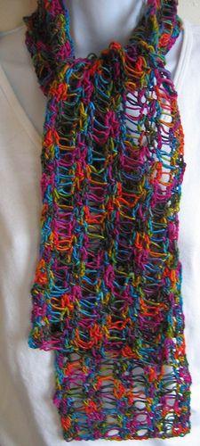 Scarf that rocks crochet pattern