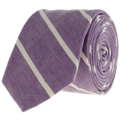 J.Crew Thin-stripe tie ($60) via Polyvore