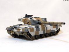 MMZ - British Chieftain Mk.V Tank -TAMIYA
