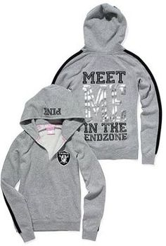 Victoria's Secret Pink® Oakland Raiders Pullover Hoodie