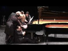12 Pianists at 1 Piano: Albert Lavignac / Sischka Galop-Marche à 12 -- This is awesome!  So many fun parts, but what they do at the 5 minute mark is one of my favorite spots!